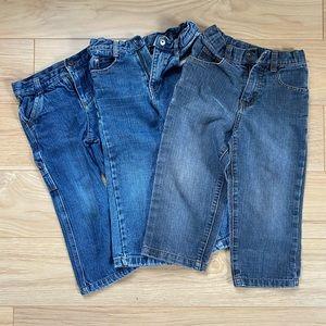 Calvin Klein [3T] boys jeans- bundle of 3